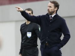 Gareth Southgate oversaw a 2-0 win in Albania on Sunday (Florian Abazaj/PA)