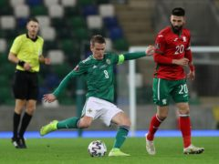 Northern Ireland were held to a damaging draw by Bulgaria (Brian Lawless/PA)