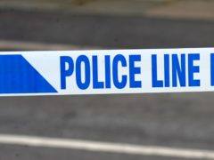 A generic stock photo of police tape (Peter Byrne/PA)