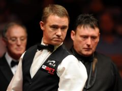Jimmy White (right) and Stephen Hendry will renew their rivalry in qualifying for the 2021 World Championship (Andrew Matthews/PA)