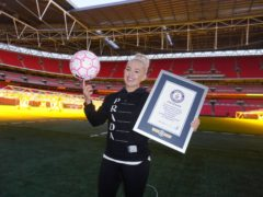 Freestyle star Liv Cooke set another world record at Wembley on Sunday (Liv Cooke)