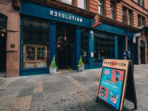 Revolution has said it plans to open 20 bars from April 12 (Revolution/PA)