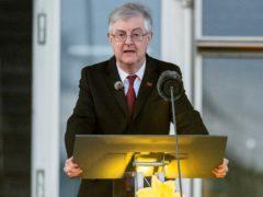 First Minister of Wales Mark Drakeford speaks during a National Coronavirus Commemorative Event at the Senedd (Matt Horwood)