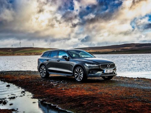 Chunkier bumpers give the V60 a more rugged look