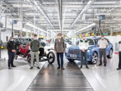 The 200,000th car was a Bentayga Hybrid destined for China