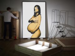 Banksy's Original Concept for Barely Legal Poster (After Demi Moore) (Banksy, Courtesy: Sotheby's)