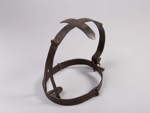 The torture device could distort features and cause lacerations to the tongue and lips (The National Trust for Scotland /PA)