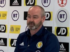 Steve Clarke wants to keep the feel good factor with Scotland (Ronnie Esplin/PA)
