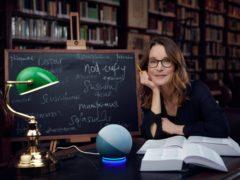 Susie Dent is partnering with Amazon's Alexa (Amazon)