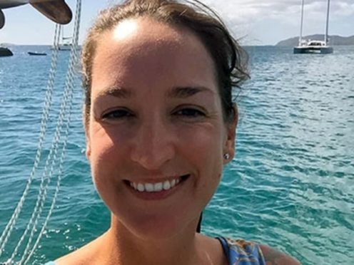 Friends of a British woman who has been missing in the US Virgin Islands for more than two weeks have called for authorities there to 'prioritise the investigation' into her disappearance (VIPD/PA)