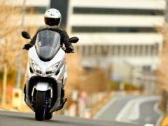 The Burgman is now cleaner and more efficient than before