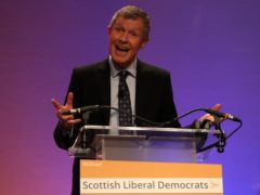 Scottish Liberal Democrat leader Willie Rennie urged disenchanted SNP supporters to 'try' his party in May's Holyrood election (Andrew Milligan/PA)