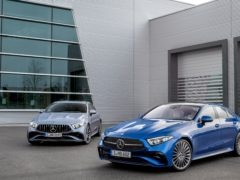 The CLS has been updated with a range of exterior tweaks