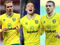 Cantwell, Skipp and Buendia have shone for Norwich (Mike Egerton/Nick Potts/Nigel French/PA)