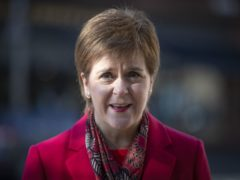 Nicola Sturgeon said she would serve the full five year term as first minister, if re-elected to power in May. (Jane Barlow/PA)