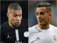 Kylian Mbappe and Lucas Vazquez have been written about in Friday's papers (John Walton/Adam Davy/PA)