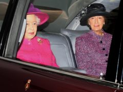 The Queen and Lady Susan Hussey (Chris Radburn/PA)