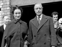The Duke and Duchess of Windsor (PA)