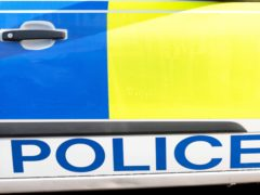 The incident occurred on the southside of Glasgow on Tuesday afternoon (PA)