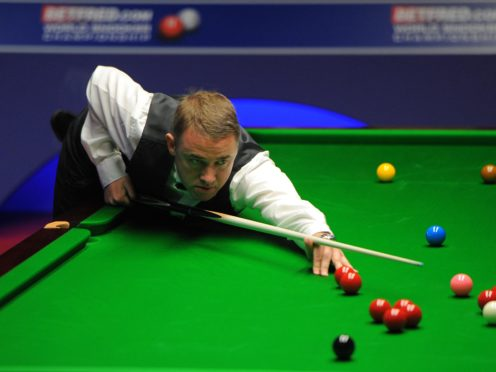 Stephen Hendry's comeback juddered to a halt in Sheffield (Andrew Matthews/PA)