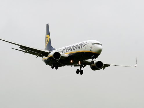 Ryanair had argued that the aid constituted unfair state bailouts for national carriers (Rui Vieira/PA)