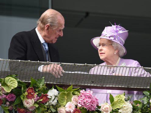 The Duke of Edinburgh and the Queen (Adam Davy/PA)