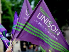 Unison's Mark Ferguson said it is unacceptable for workers 'to be used as a political football' (Nick Ansell/PA)