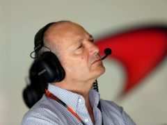 Ron Dennis stood down from his positions of executive authority at McLaren (David Davies/PA)