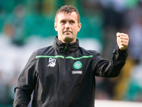 Former Celtic manager Ronny Deila won the Scottish title twice (Jeff Holmes/PA)