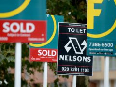 House sales picked up sharply in March, according to the Royal Institution of Chartered Surveyors (Anthony Devlin/PA)