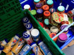 5.9 million adults in the UK experienced food poverty in the six months up to February (Jonathan Brady/PA)