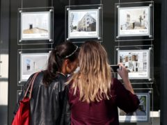 An estate agent's window in 2016. The choice of mortgages has recovered to around three-quarters of the levels seen before the coronavirus pandemic took its toll on the market, Moneyfacts.co.uk said (Yui Mok/PA)