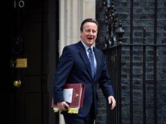 David Cameron was acting as an adviser to Greensill (Hannah McKay/PA)