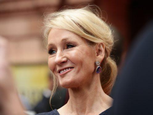 JK Rowling (Yui Mok/PA)