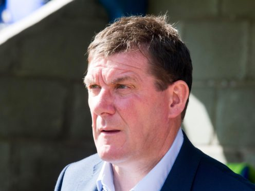Tommy Wright is relieved to see Kilmarnock back on the goal trail (Jeff Holmes/PA)