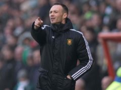 """East Fife manager Darren Young is furious that his team were placed at """"unnecessary risk"""" (Jeff Holmes/PA)"""