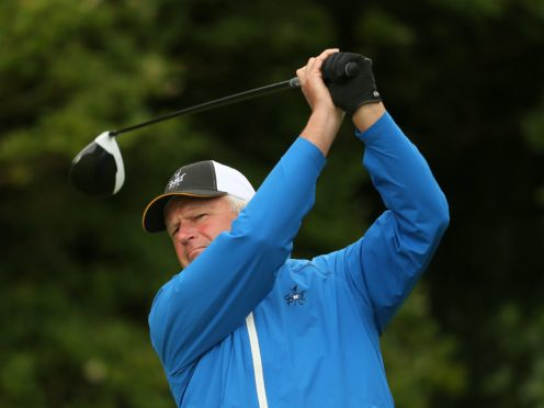 Former champion Sandy Lyle struggled after a bright start to the 85th Masters (Richard Sellers/PA)