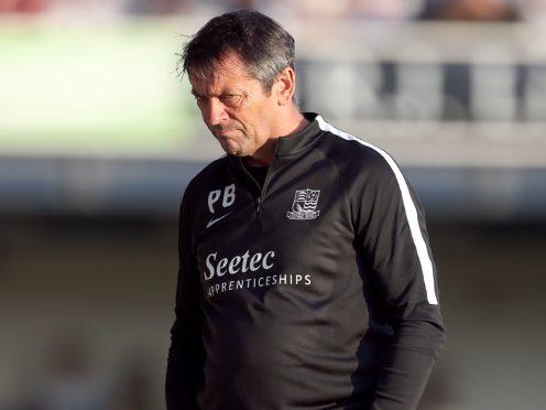 Phil Brown is confident in Southend's survival chances (Steven Paston/PA)