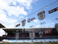 The PFA have written an open letter to EFL clubs over the squad size limits for the 2021-22 season (Barrington Coombs/PA)