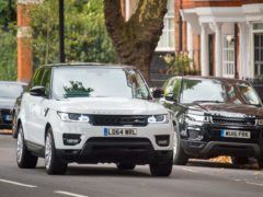 Two-thirds of the largest, most polluting sports utility vehicles sold in the UK are registered to urban households, according to new figures (Dominic Lipinski/PA)