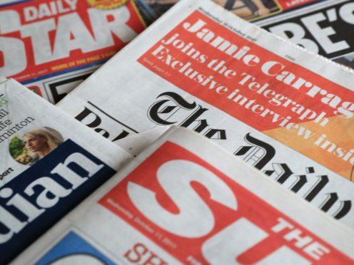 What the papers say – April 15 (PA)