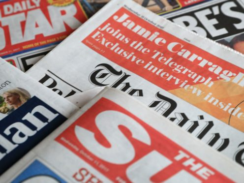 What the papers say – April 6 (Peter Byrne/PA)