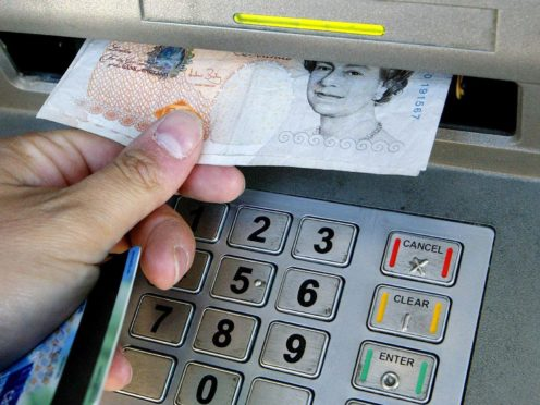 The reopening of more businesses across England from Monday could prompt more visits to cash machines, although some shoppers may have changed their habits for good (Gareth Fuller/PA)
