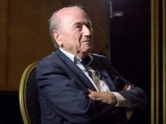 Former FIFA president Sepp Blatter will not appeal against his latest ban (Aaron Chown/PA)
