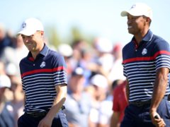 Justin Thomas and Tiger Woods have played in the Ryder Cup together