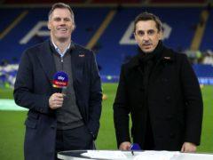 Sky Sports pundits Jamie Carragher (left) and Gary Neville (Nick Potts/PA)