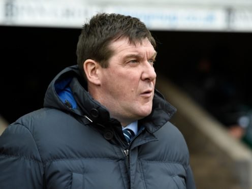 Tommy Wright has a full squad at his disposal (Ian Rutherford/PA)
