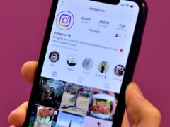 Instagram has apologised after an issue with its algorithm led to diet-based content being suggested to users with eating disorders (Nick Ansell/PA)