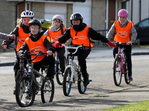 The SNP says children who cannot afford a bike will be given one for free (Andrew Milligan/PA)