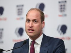 The Duke of Cambridge wants to seize this chance to secure the health of football (Chris Jackson/PA)